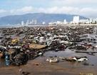 Biển Quy Nhơn ngập rác sau bão số 5, thanh niên xắn tay thu dọn