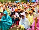 Gần 500 học sinh và giáo viên diễn tập ứng phó sóng thần