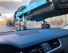 """""""Xe tăng bay"""" Su-34 chạy bộ trên đường cao tốc"""