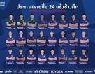 Đội tuyển Thái Lan chốt danh sách 24 cầu thủ: Không có Thitipan