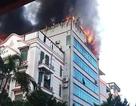 """Cháy """"chung cư mini"""" 8 tầng ở Hà Nội"""