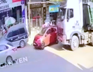 Chạy cắt mặt xe tải - Bài học cho lái mới