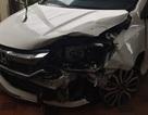 Bác sĩ lái ô tô bỏ chạy sau khi tông 2 phụ nữ trọng thương