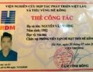 Hà Nội: Dùng thẻ nhà báo giả để xin bỏ qua vi phạm giao thông
