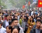 2017, dân số Hà Nội đã vượt mức dự báo cho... 2030