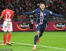 Icardi tỏa sáng, PSG xây chắc ngôi đầu bảng Ligue 1