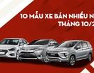 Top 10 mẫu xe bán nhiều nhất tháng 10/2019: Cái tên nào ngăn được Mitsubishi Xpander?