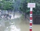 Hàng nghìn học sinh vùng hạ du sông Lam vẫn đang phải nghỉ học