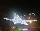 """Thắp sáng """"ngôi sao hòa bình"""" bằng đèn led lớn nhất Việt Nam"""