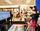 Chơi Angry Birds bằng tay trên Smart TV của Samsung