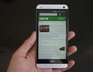 HTC One M7 dung lượng 16 GB giảm sâu 3 triệu đồng