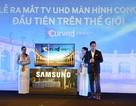 TV UHD màn hình cong đầu tiên trên thế giới ra mắt tại Việt Nam