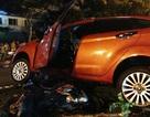 Ô tô lùi trúng 3 xe máy, 1 phụ nữ tử vong