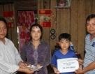 Gần 25 triệu đồng đến với 2 cha con mắc bệnh hiểm nghèo