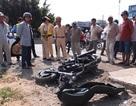 Chạy trốn CSGT, cố lao xe vào đường cao tốc rồi tông trụ bê tông