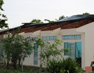Ban chỉ huy quân sự huyện hỏng nặng vì lốc xoáy