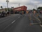 Tai nạn làm 17 người thương vong: Do xe container lấn lề, đâm vào xe khách!
