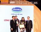 """Vinamilk """"nắm"""" vị trí số 1 trong Top 10 doanh nghiệp tư nhân lớn nhất Việt Nam 2015"""