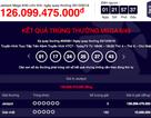 """Giải Jackpot đã """"đội"""" lên con số kỷ lục 126 tỷ đồng"""