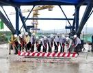 Hợp long cây cầu dài nhất dự án đường cao tốc Đà Nẵng - Quảng Ngãi