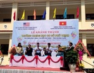 Khánh thành trường THCS do Bộ Tư lệnh Thái Bình Dương Hoa Kỳ tài trợ