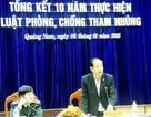 """Quảng Nam: 10 năm qua, tham nhũng """"gây thiệt hại không đáng kể""""!"""