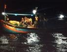 Cứu 9 ngư dân gặp nạn trên biển