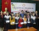 Quảng Trị: Trao 42 suất học bổng cho học sinh, sinh viên nghèo dịp đầu Xuân