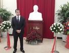 Đại sứ quán Azerbaijan ra mắt bức tượng của lãnh tụ Heydar Aliyev