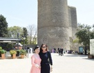 Phu nhân Chủ tịch nước tham quan Baku cùng đệ nhất phu nhân Azerbaijan