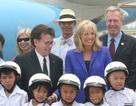 Phu nhân Phó tổng Mỹ Joe Biden đến Hà Nội