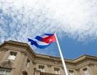 Quốc kỳ Cuba tung bay trong lễ thượng cờ tại Washington