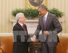 Điện mừng nhân kỷ niệm 20 năm quan hệ ngoại giao Việt Nam-Hoa Kỳ
