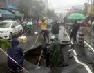 """""""Hố tử thần"""" dài hơn 5m xuất hiện trên đường phố Nha Trang"""
