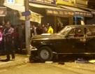 Ô tô biển xanh gây tai nạn liên hoàn, tài xế bị dân đánh