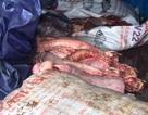 Nội tạng động vật bốc mùi hôi thối chuẩn bị thâm nhập thị trường