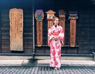 Chi Pu diện kimono đáng yêu trên đất Nhật