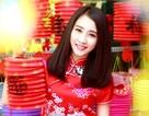 """""""Bạn gái màn ảnh"""" của Sơn Tùng MTP rạng rỡ dạo phố Trung thu"""