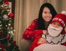 Xúc động clip Miss Teen Huyền Trang tặng con trai mới sinh