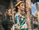 """""""Bạn gái màn ảnh"""" của Tuấn Hưng, Khắc Việt dịu dàng khoe sắc"""