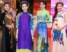 Áo dài trở thành thời trang thảm đỏ yêu thích của sao Việt