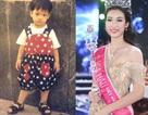 Ngắm ảnh tuổi thơ Hoa hậu, Á  hậu Việt, so ngày ấy - bây giờ