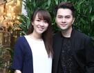 Vợ Nam Cường giấu bụng bầu trong tiệc sinh nhật chồng