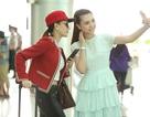 Hoa hậu Ngọc Duyên, người mẫu Lê Hà khoe eo thon lên đường sang Pháp