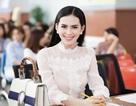 Hoa hậu Sang Lê về trường cũ chấm thi Hoa khôi ĐH Công nghệ
