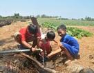 Trẻ em vùng hạn mặn vui vì ngày Tết thiếu nhi có máy lọc nước