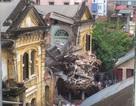 Dừng sử dụng các tòa nhà lân cận biệt thự vừa sập