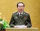 Bỏ phiếu bầu Đại tướng Trần Đại Quang làm Chủ tịch nước