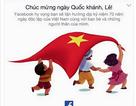 Facebook chào mừng kỉ niệm 70 năm Quốc Khánh Việt Nam