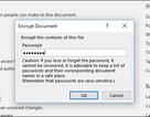 Mẹo tạo mật khẩu bảo vệ tài liệu và các tập tin PDF với Microsoft Office